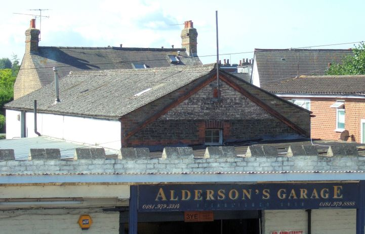 Aldersons garage is now closed