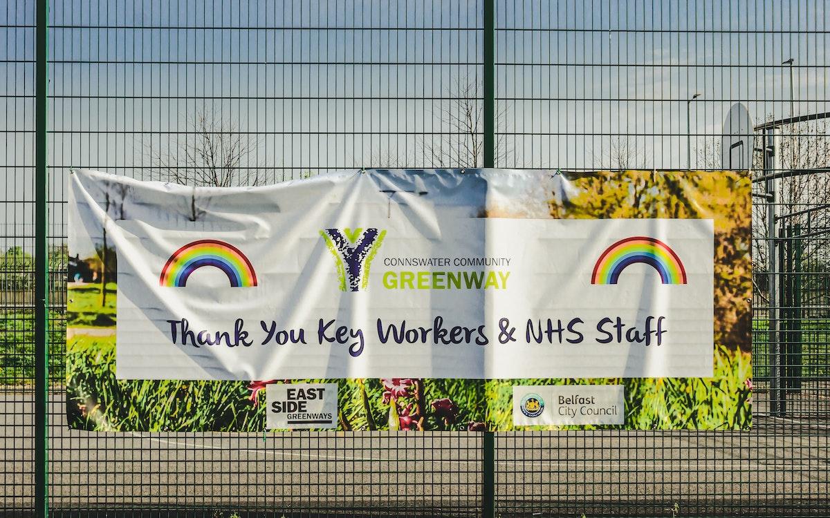 coronavirus MOT test - NHS banner